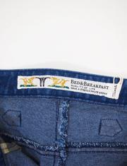 【BED&BREAKFAST】ベッドアンドブレックファスト/Stretch Denim Pants