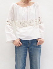 【cher】FRUIT CAKE/LACE&LAWN トップス