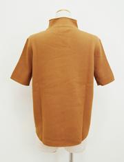 【BED&BREAKFAST】ベッドアンドブレックファスト/STRIPE INLAY STITCH Mock neck Short