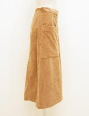 【BED&BREAKFAST】ベッドアンドブレックファスト/CORDUROY Skirt