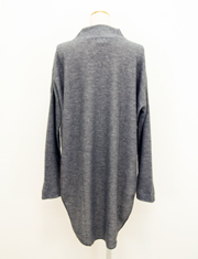 【BED&BREAKFAST】ベッドアンドブレックファスト/LOW GAUGE DOUBLE FACE High neck Long Top