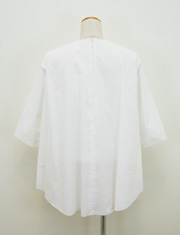【GREED】グリード/ITALY COTTON BACK FLARED BLOUSE