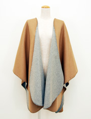 【TODAYFUL】トゥデイフル/Reversible Wool Poncho