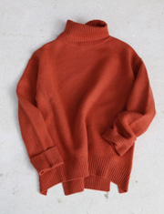 【TODAYFUL】トゥデイフル/Boiled Wool Knit