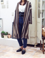 【TODAYFUL】トゥデイフル/Jacquard Knit Gown