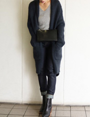 【TODAYFUL】トゥデイフル/Lawgauge Long Cardigan
