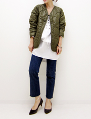 【TODAYFUL】トゥデイフル/Quilting Liner Jacket