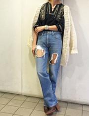 【TODAYFUL】トゥデイフル/Hand Knit Cardigan