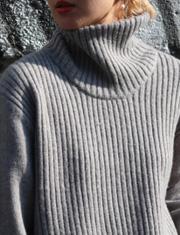 【TODAYFUL】トゥデイフル/Rib Turtle Knit