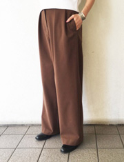 【TODAYFUL】トゥデイフル/Tuck Trousers