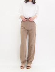 【BED&BREAKFAST】ベッドアンドブレックファスト/TUMBLER LINEN Pants