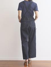 【SEA】シー/VINTAGE 8580 オリジナルセルヴィッチデニムオーバーオール