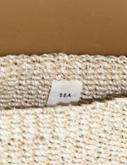 【SEA】シー/カゴクラッチバッグ M