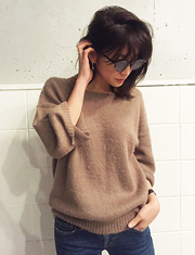 【TODAYFUL】トゥデイフル/Back V Loose Knit