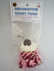 【Fakey Sweets】DECORATIVE FAKEY FOOD/ICE CREAM TOP SWIL