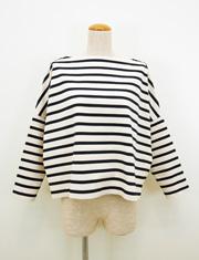 【Traditional Weatherwear】トラディショナル ウェザーウェア/ビッグマリンボートネックシャツ
