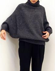 【Traditional Weatherwear】トラディショナル ウェザーウェア/バルーン タートルネック トップ